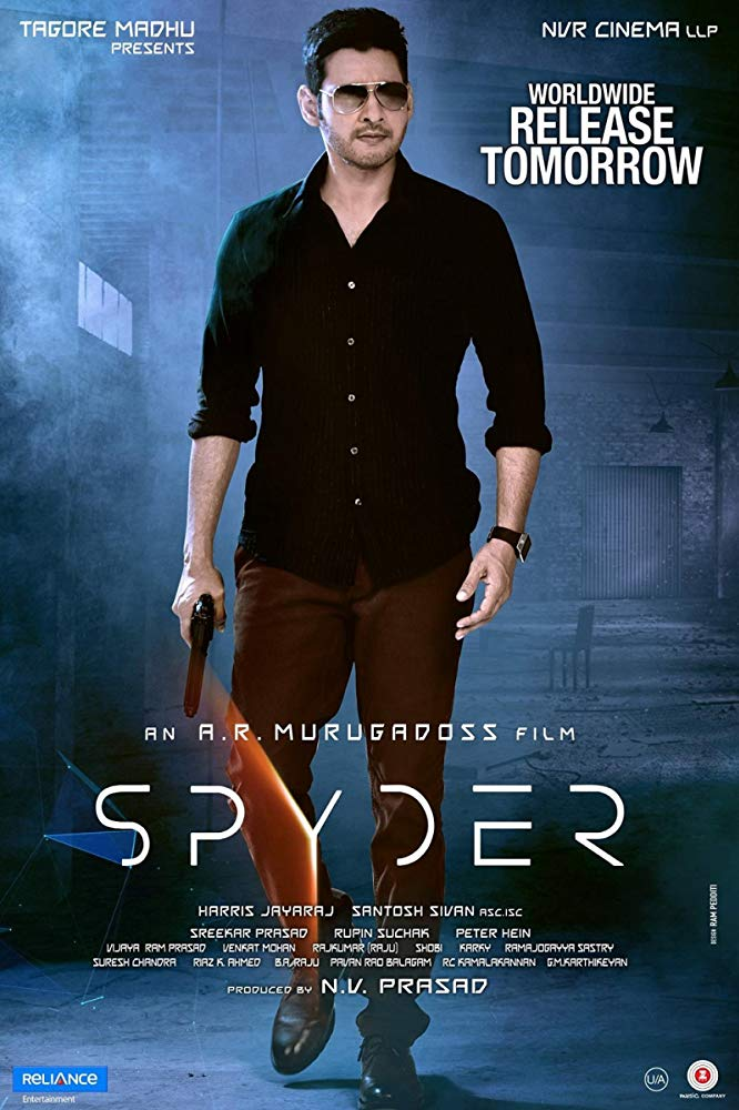 Spyder (2017) New Hindi Dubbed Movie HDRip x264 AAC