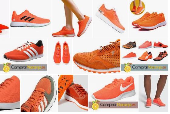 Zapatillas naranjas baratas para regalo en 2021