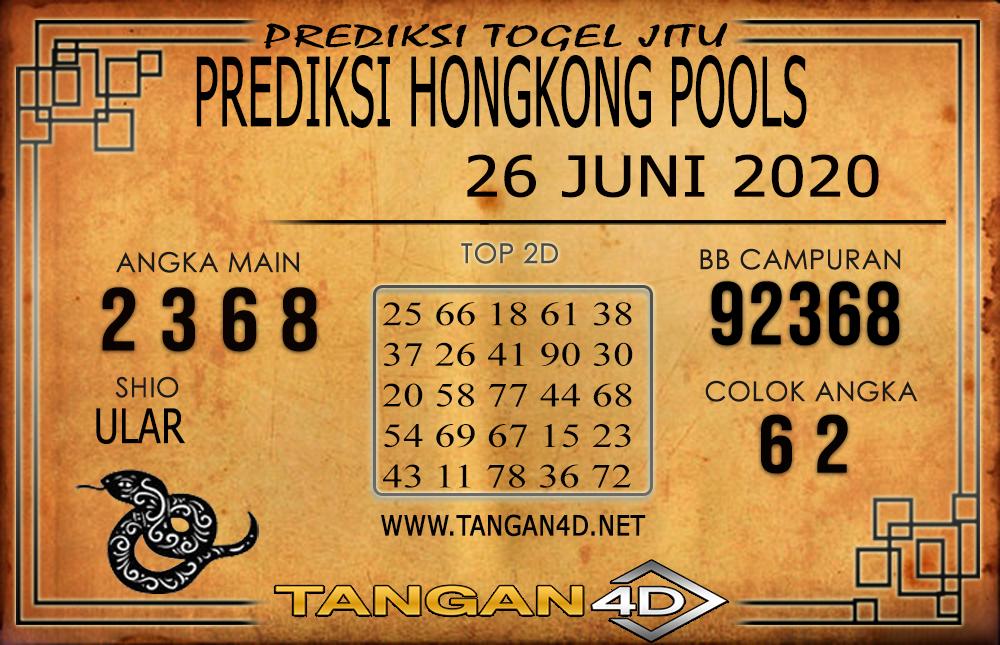 PREDIKSI TOGEL HONGKONG TANGAN4D 26 JUNI 2020
