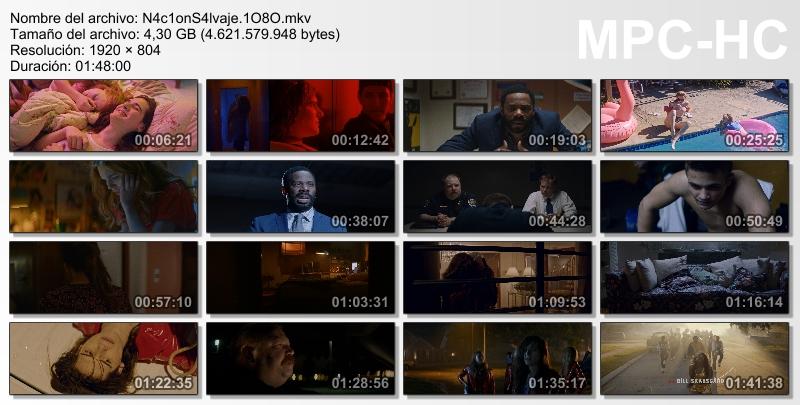 Nación salvaje (2018)[MicroHD 1080p][Castellano/Ingles][Thriller][VS]