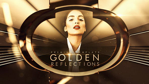 Golden Reflections 33164823 - Project for After Effects (Videohive)