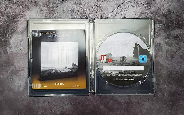 PC《死亡擱淺》中文鐵盒實體版正式發售,精裝鐵盒開箱展示 05