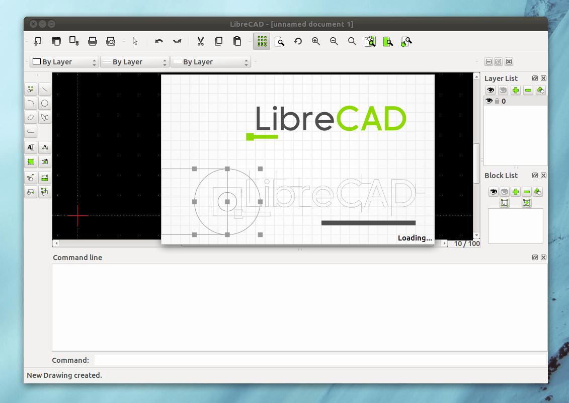 librecad, alternativa a autocad en linux