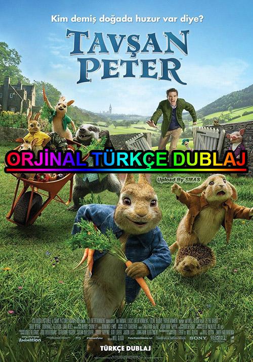 Tavşan Peter | Peter Rabbit | 2018 | BDRip | XviD | Türkçe Dublaj | m720p - m1080p | BluRay | Dual | TR-EN | Tek Link