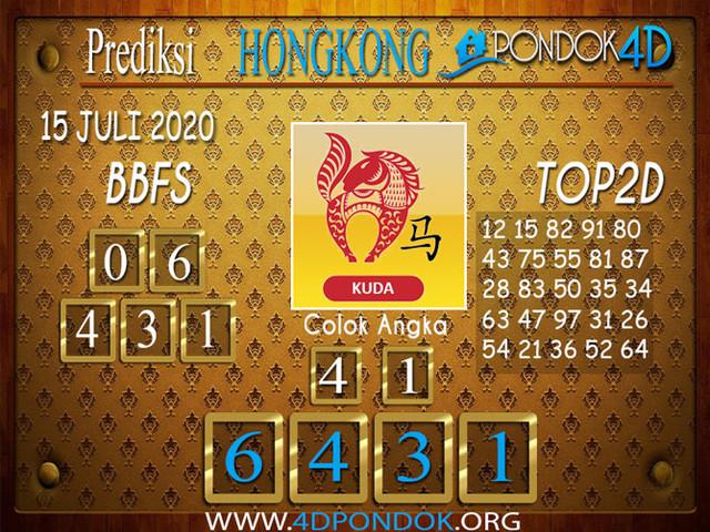 Prediksi Togel HONGKONG PONDOK4D 15 JULI 2020