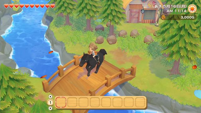 「牧場物語」系列首次在Nintendo SwitchTM平台推出全新製作的作品!  『牧場物語 橄欖鎮與希望的大地』 於今日2月25日(四)發售 009