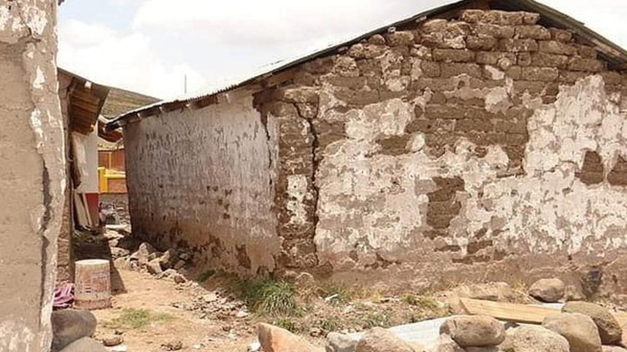 Lampa: Sismo en Ocuviri dejó cinco familias afectadas