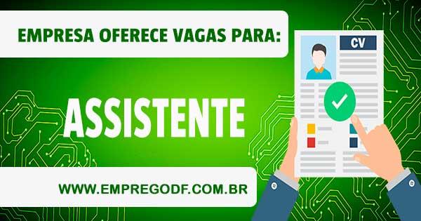 EMPREGO PARA ASSISTENTE DE RELACIONAMENTO COM O SALÁRIO DE R$ 1.875,58