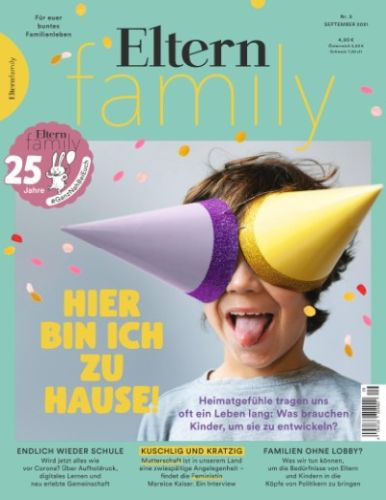 Cover: Eltern Family Magazin September No 09 2021