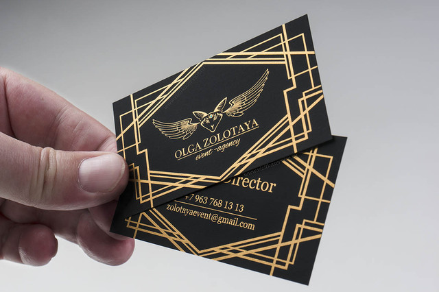 Визитки на тачкавере: роскошь, достойная профессионалов