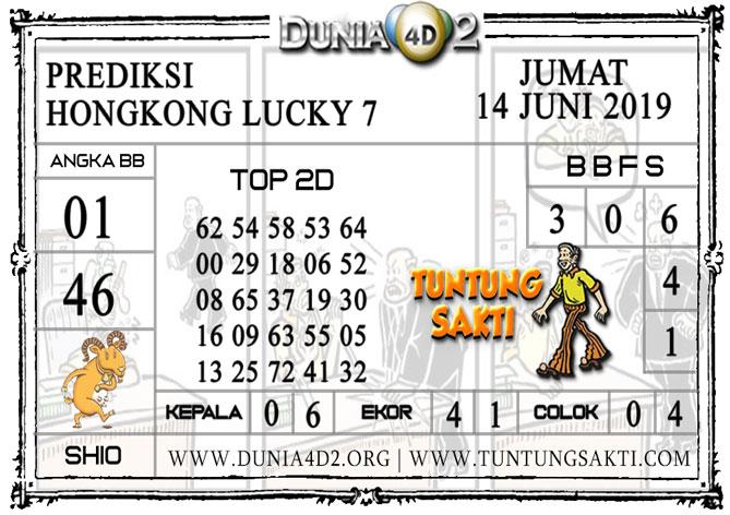 """Prediksi Togel """"HONGKONG LUCKY 7"""" DUNIA4D2 14 JUNI 2019"""