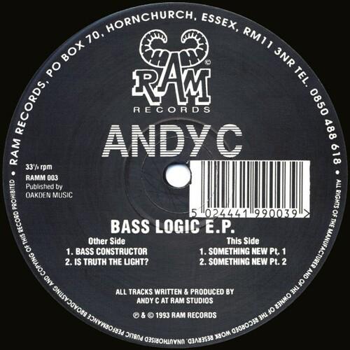 Andy C - Bass Logic E.P. 1993