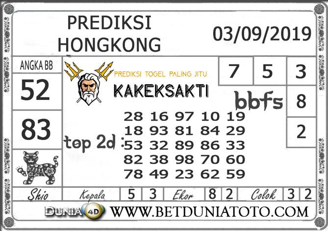 "Prediksi Togel ""HONGKONG"" DUNIA4D 03 SEPTEMBER 2019"