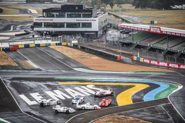 Porsche réuni six prototypes vainqueurs au classement général au Mans S20-4231-fine
