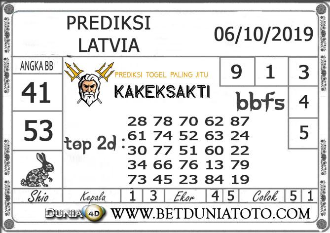 """Prediksi Togel """"LATVIA"""" DUNIA4D 06 OKTOBER 2019"""