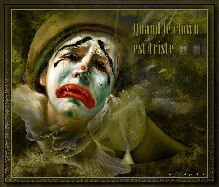 Quand le clown est triste 1074