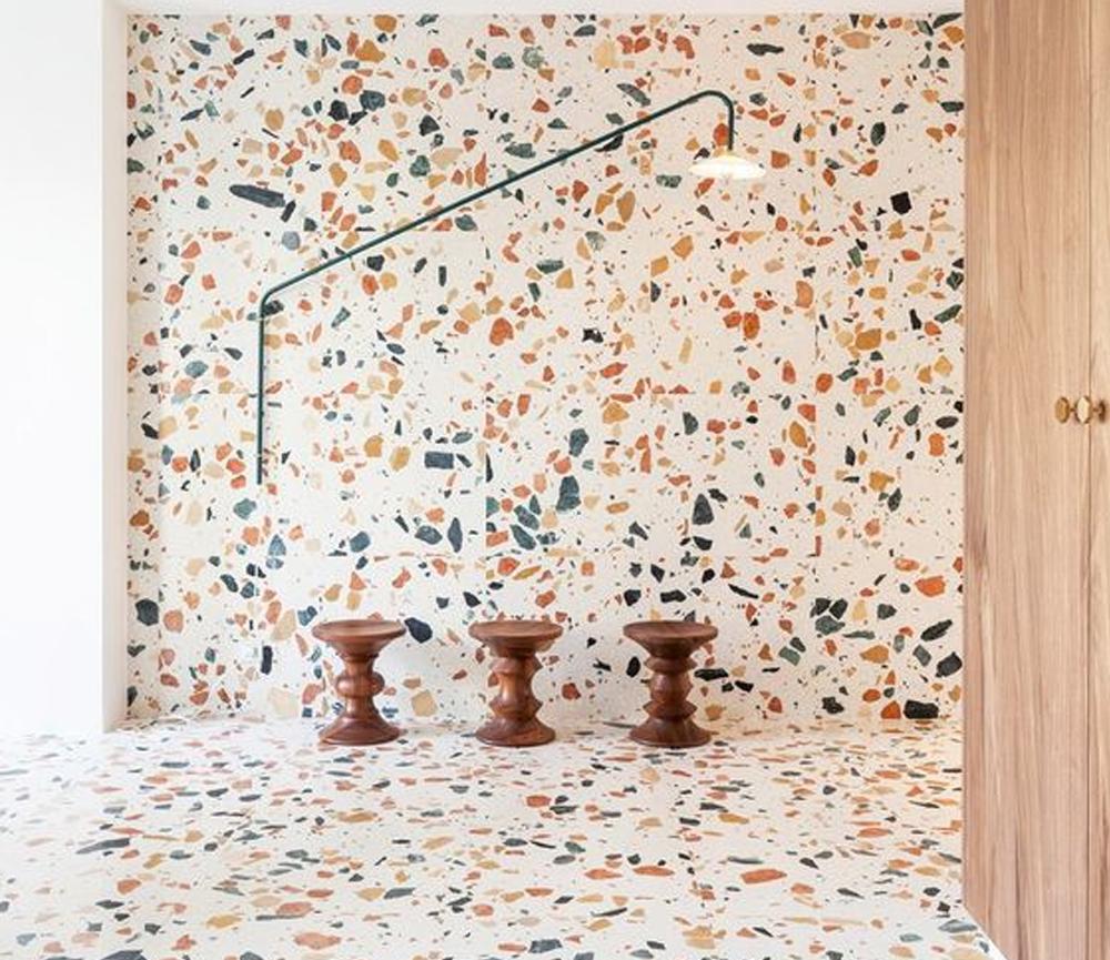 Desain lantai granit Abstrack Granite Design