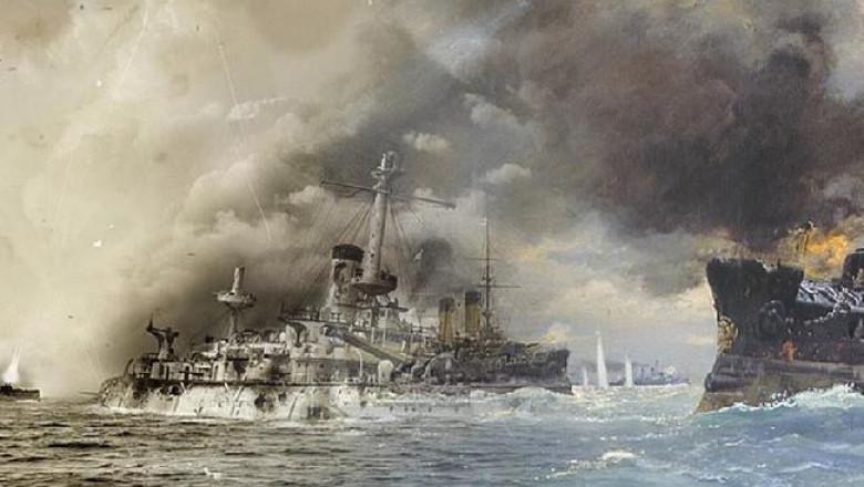 ships battle