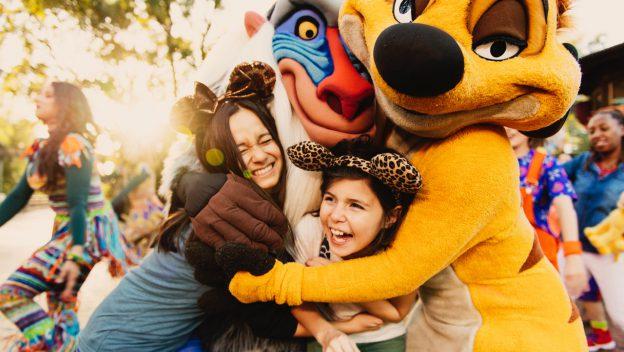 Walt Disney World Lion King dance party