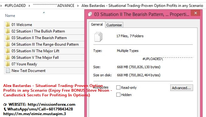 Alex Bastardas - Situational Trading-Proven Option Profits in any Scenario (Enjoy Free BONUS Steve Nison - Candlestick Secrets For Profiting In Options)