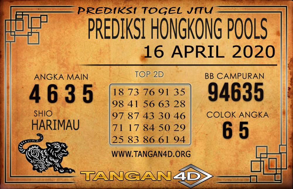 Prediksi Togel HONGKONG TANGAN4D 16 APRIL 2020