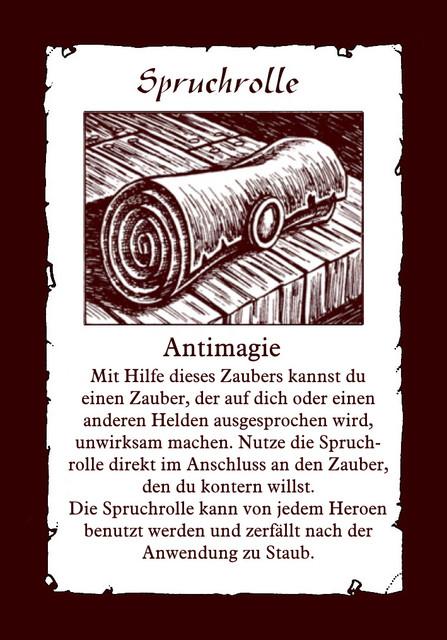 Spruchrolle-Antimagie