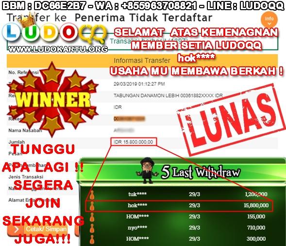 Domino99 Bergoyang Modal 3JT Menang 15JT Cukup Mantap Bos!!