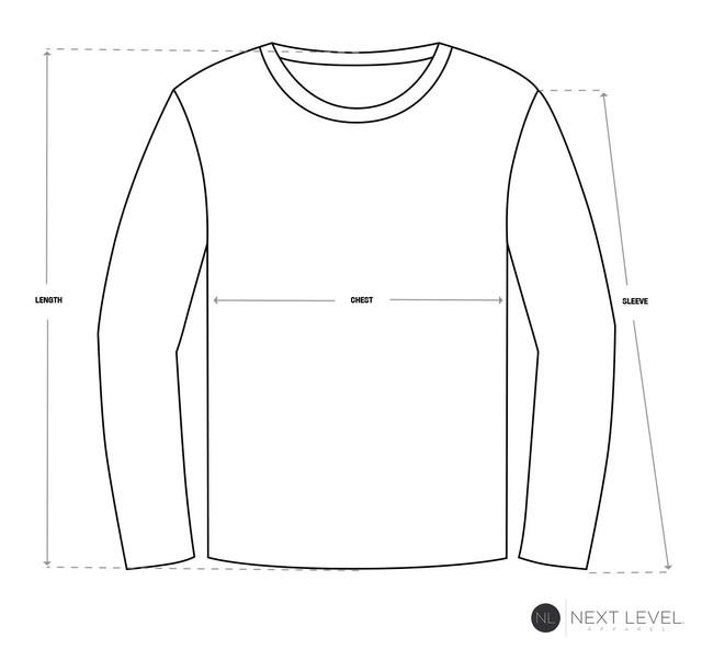 Size-Chart-Long-Sleeve-Next-Level-Apparel