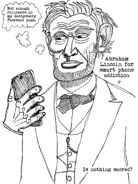 smart-phones-addiction-abraham-lincoln-ink-on-paper-12x9-2019-w.jpg