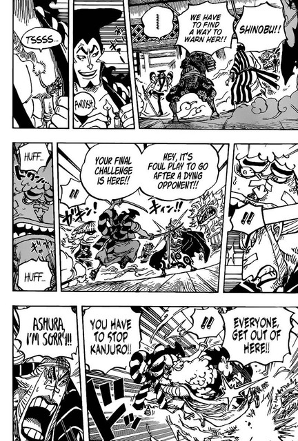 One Piece Chapter 1008 - Img 008