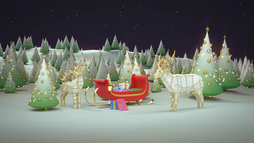 Christmas Logo 29684994 - Project for After Effects (Videohive)