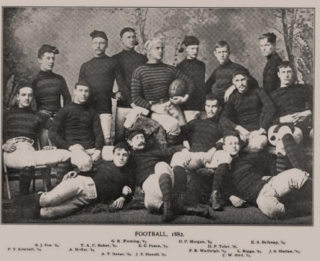 Princeton Tigers Football Team (1882)