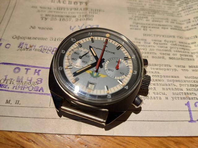 "[Vendue] Poljot Chronograph ""Sturmanskie"" 31659 IMG-20200115-211340"