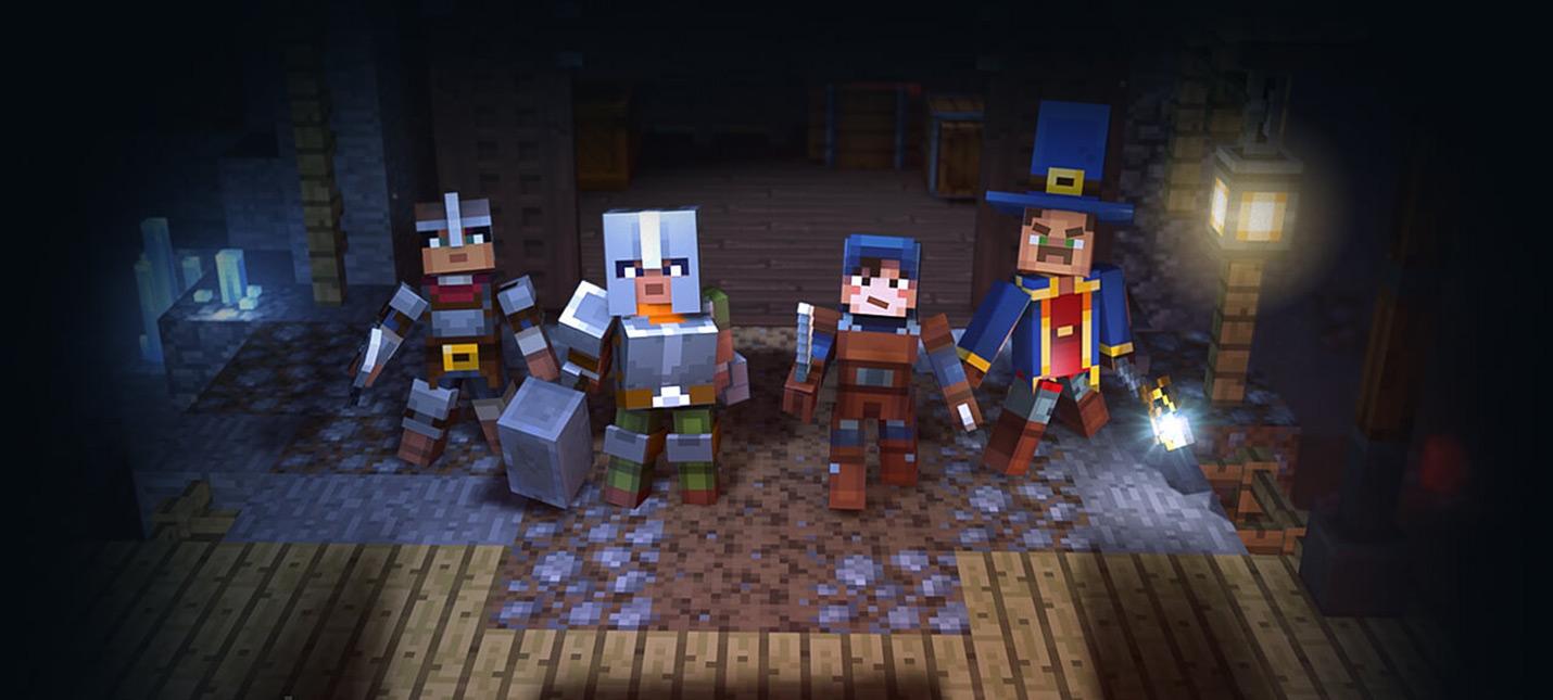 E3 2019: Трейлер Minecraft: Dungeons, релиз в 2020 году