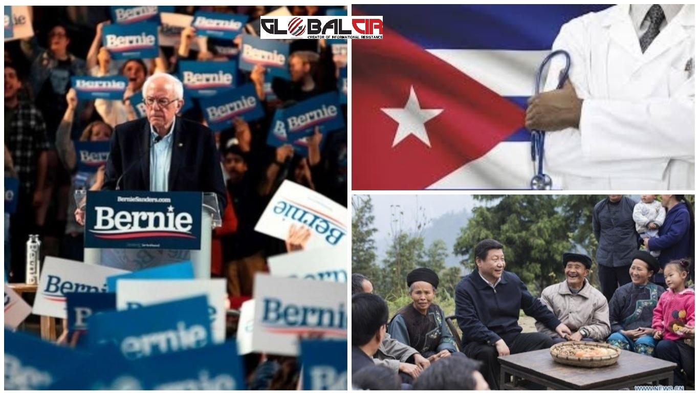 """NE RAZMJENJUJEM LJUBAVNA PISMA SA DIKTATORIMA KAO TRAMP! Sanders pomjera granice demokratskog establišmenta: """"Fidel Kastro je opismenio Kubance i dao im besplatnu medicinsku zaštitu, a Kina je iz siromaštva izvukla više stanovništva nego ijedna država na svijetu"""""""