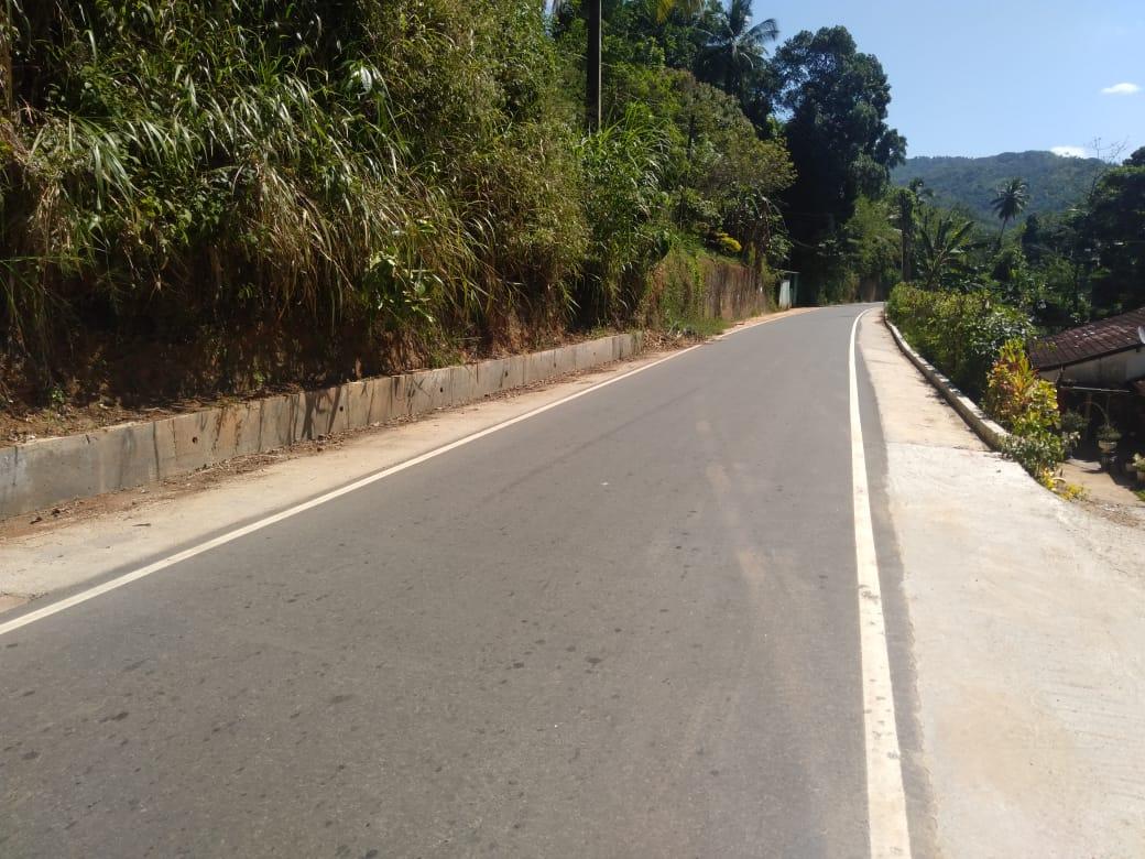 Ganetenna – Mahantegama – Kovilkanda Road