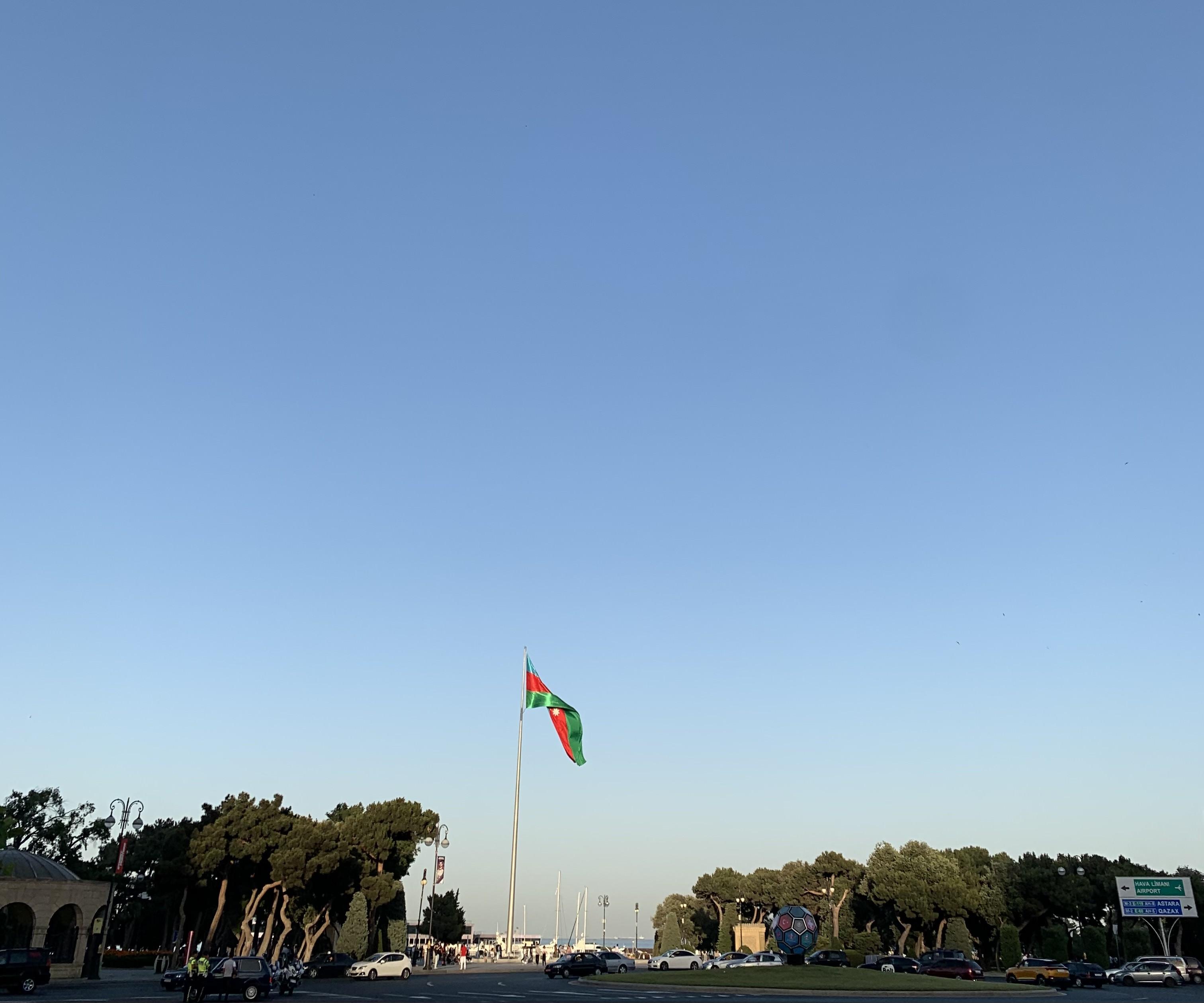 Azerbaycan'ın başkenti Bakü'nün şehir merkezi - Fotoğraf: Doğaç Özen