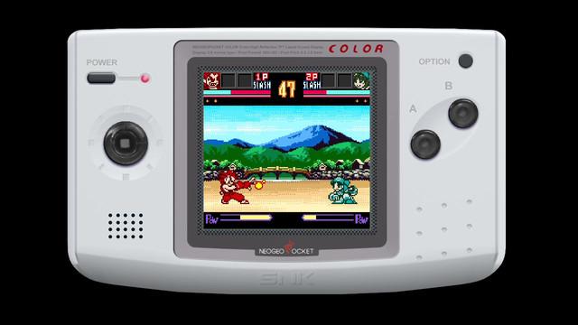 NEOGEO POCKET格⾾傑作陸續登陸Nintendo Switch! Vs