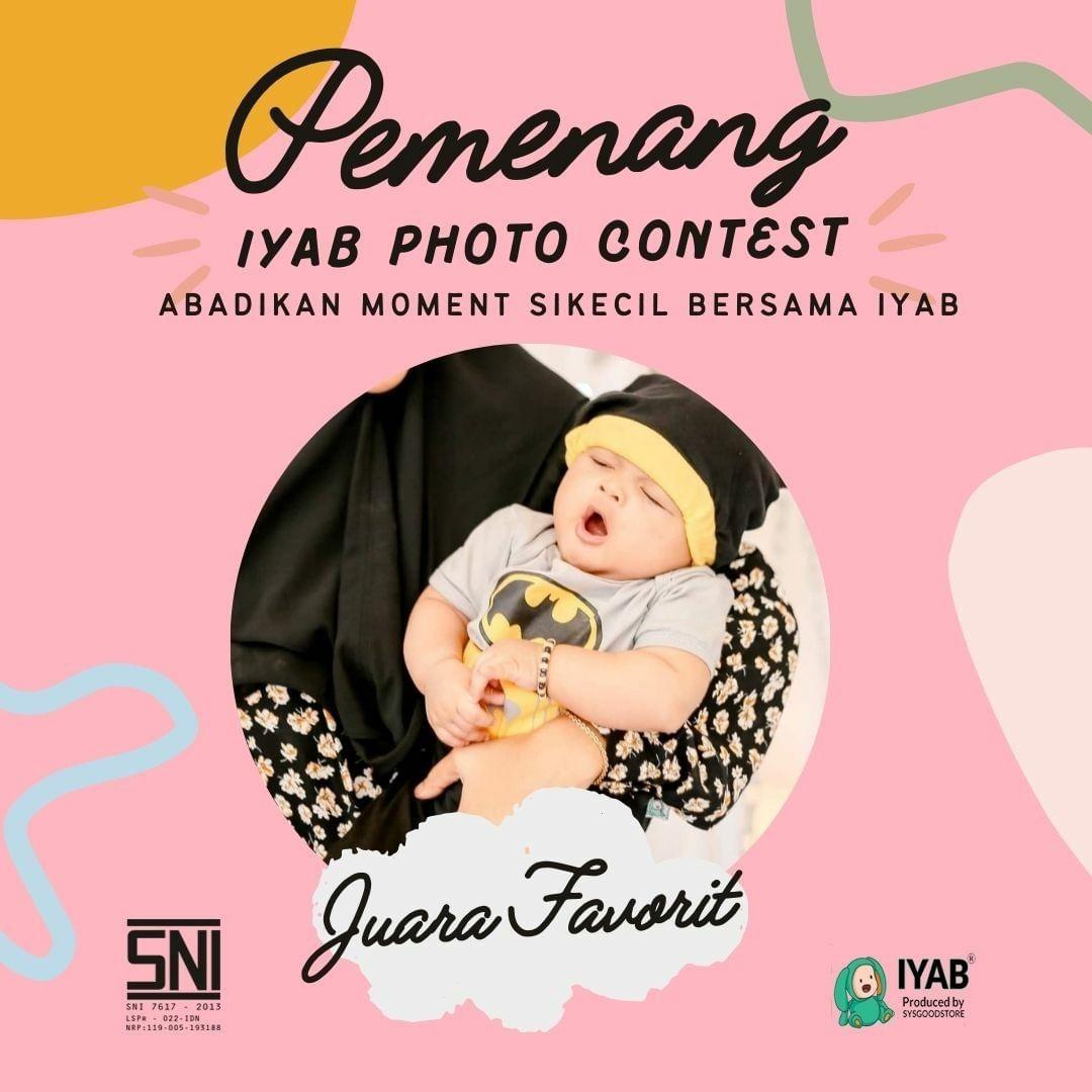 juara pemenang foto kontes iyab juara terfavorit 2