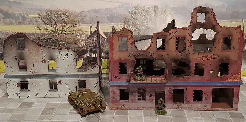 Zwei 20mm Ruinen von Terrains4Games Arminace-terrain4games-ruins-2