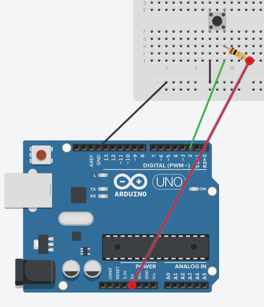 Arduino Grimoire PULLUP-resistor