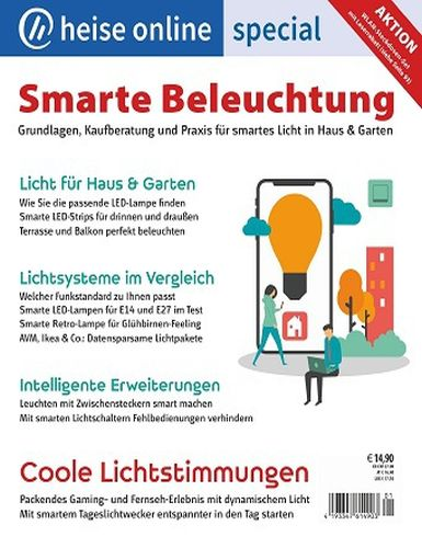 Cover: Heise Online Smart Home Magazin No 01 2021