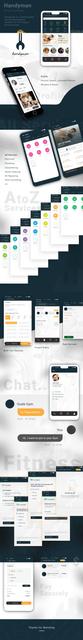 Service Marketplace App Ionic 3 Template- Handyman | codecanyon