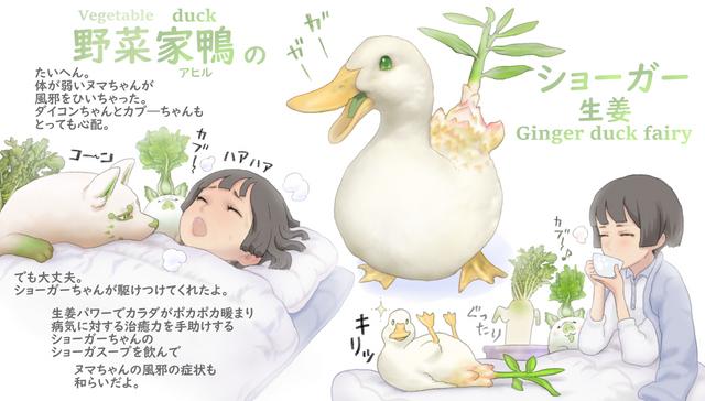 蔬菜X小動物妖精 Image