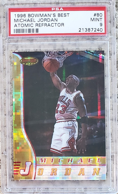 Michael Jordan Atomic Refractor 4 Sale 1200 Blowout Cards Forums