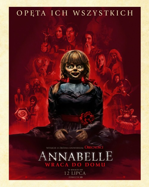 Annabelle wraca do domu / Annabelle Comes Home (2019) PLSUBBED.720p.HDCAM.x264-FOX / Napisy PL