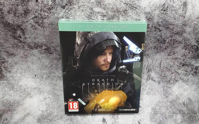 DEATH_STRANDING - PC《死亡擱淺》中文鐵盒實體版正式發售,精裝鐵盒開箱展示 01