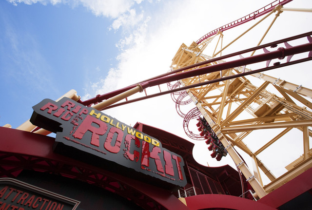 Universal's Hollywood Rip Ride Rockit