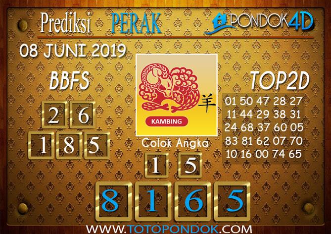 Prediksi Togel PERAK PONDOK4D 08 JUNI 2019