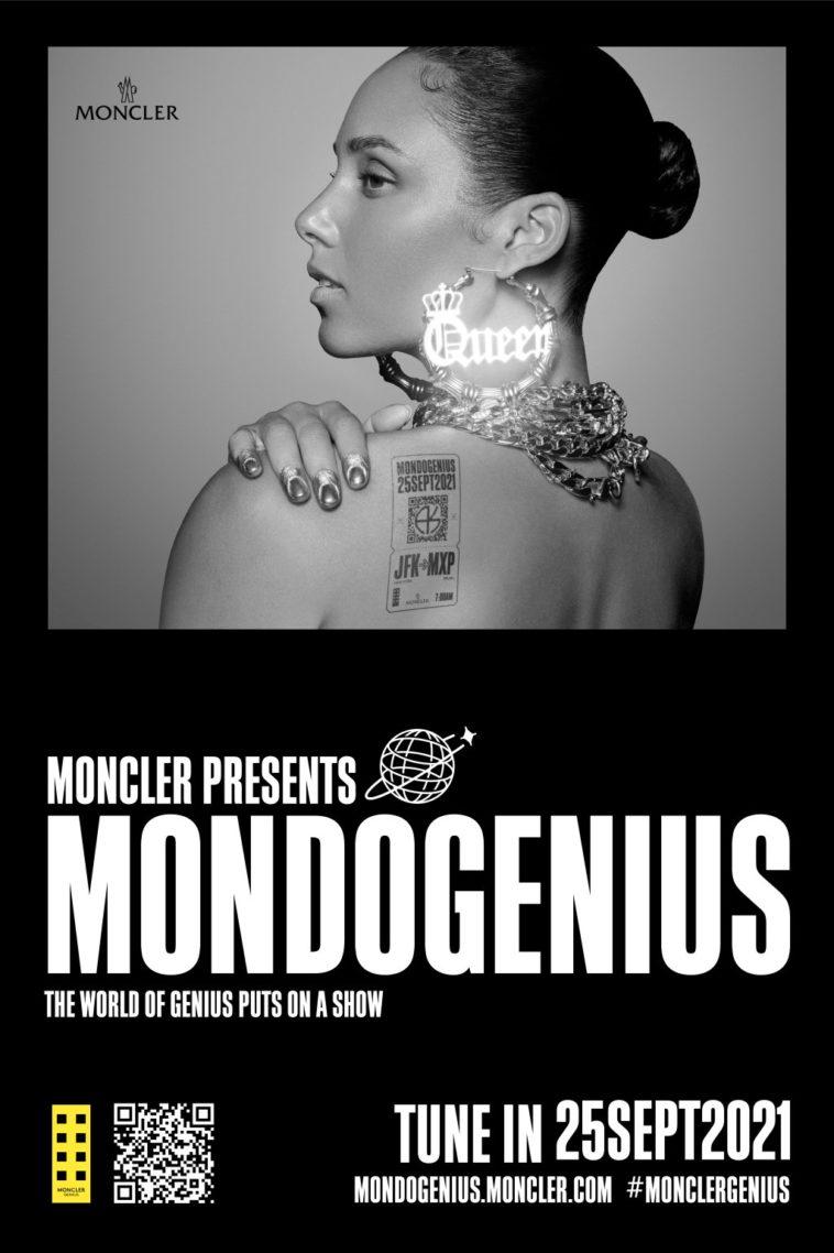 Moncler, alla MFW SS22 lo show con Alicia Keys